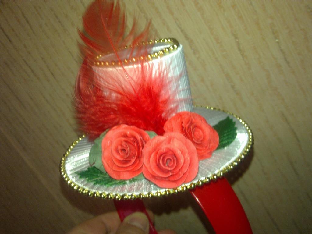 Как сделать шляпку для канзаши