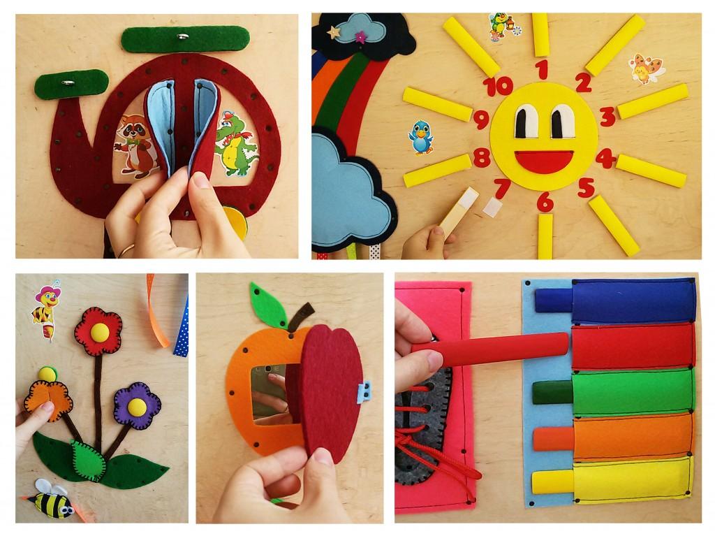 Развивающие доски для детей своими руками для девочки