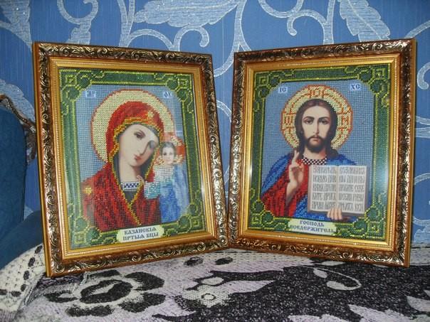 Ікони «Вінчальна пара» вишиті бісером - Творилка - всё для любителей ... 42186b6134ae3