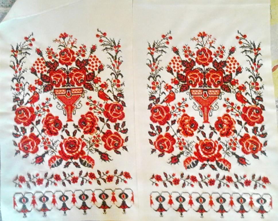 Свадебный рушник вышитый бисером - творилка - всё для любите.