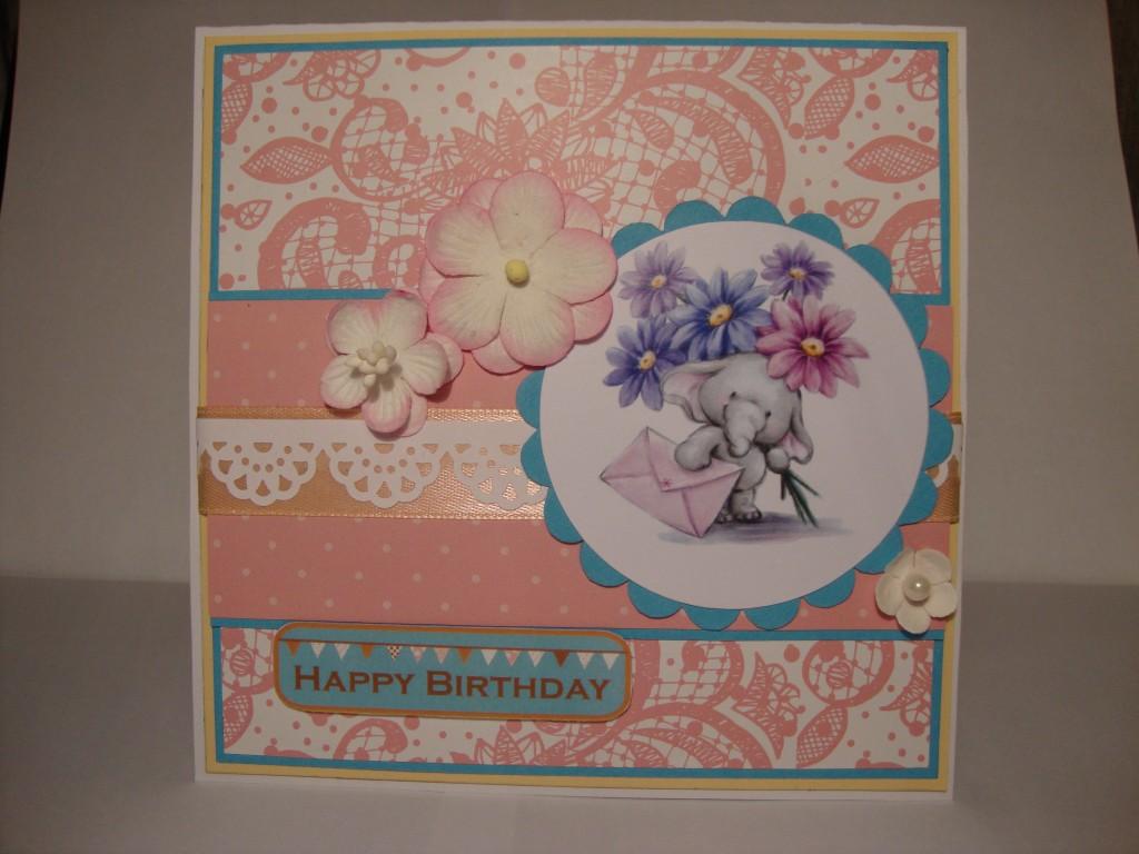 Кардмейкинг открытки своими руками с днем рождения