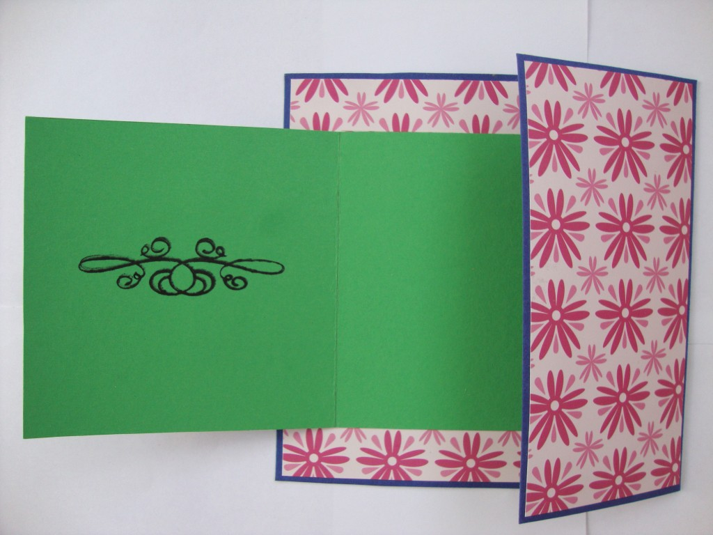 Делаем открытку раскладушки, открытку новому году
